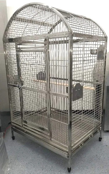 Large 675 High Quality 304 Stainless Steel Bird Parrot Macaw Cage Do  San Diego Factory