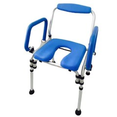 the chair leather eames bath and shower chairs with commode platinum health group special blue color makes key parts of much easier to see by vision impaired or dementia afflicted users rather than blending in