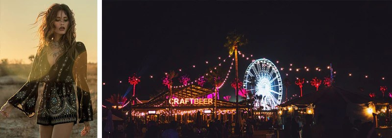 Coachella Style glow in the dark