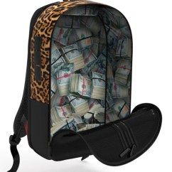 Metal Kitchen Carts Pull Down Faucets Sprayground - $tashed Money Leopard Polyester Backpack ...