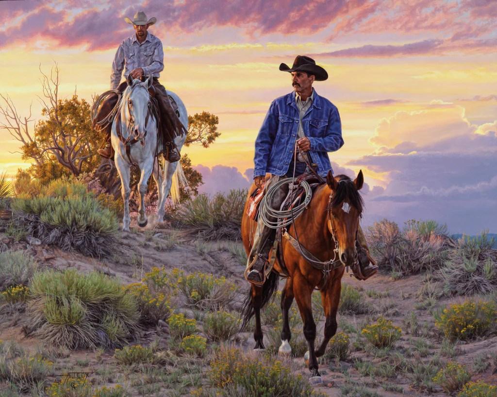Tim Cox Western Art Paintings