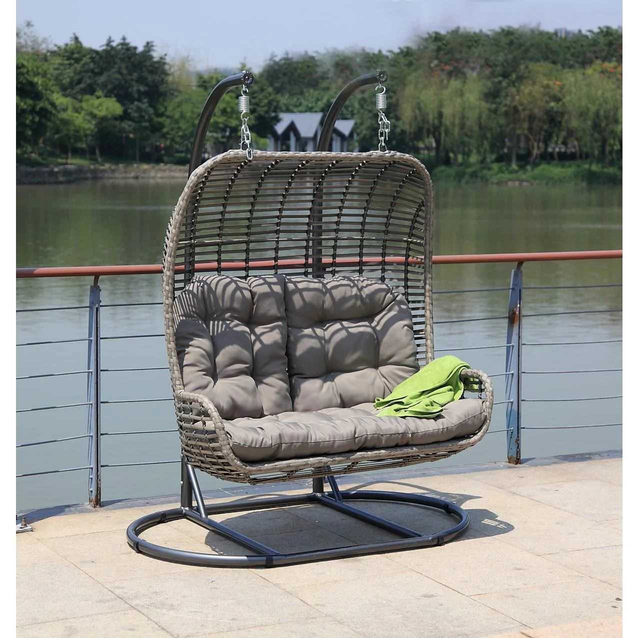 hanging chair double top 10 chairs betterpatio