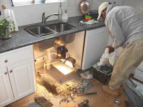 12 places to spot water damage in your
