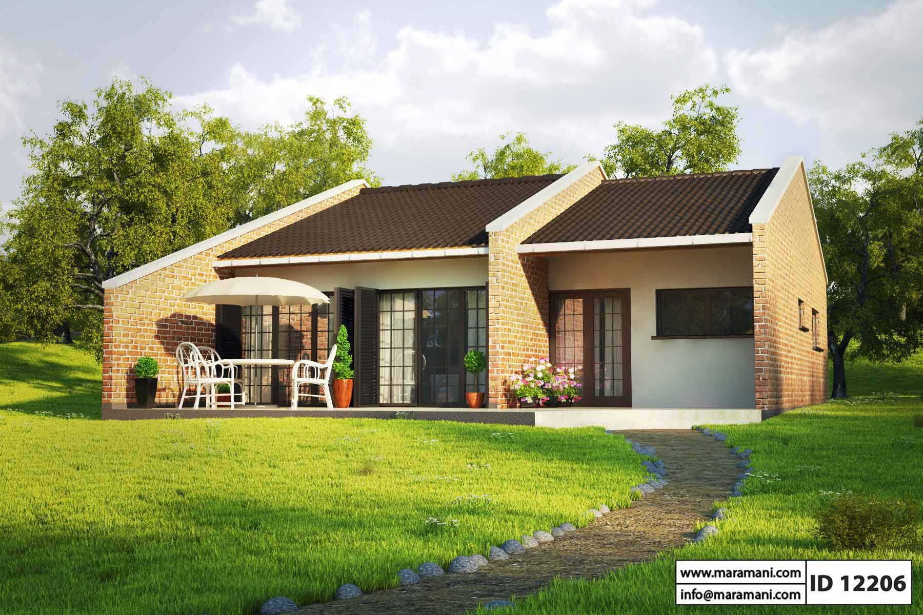 Two Bedroom House Plans Designs