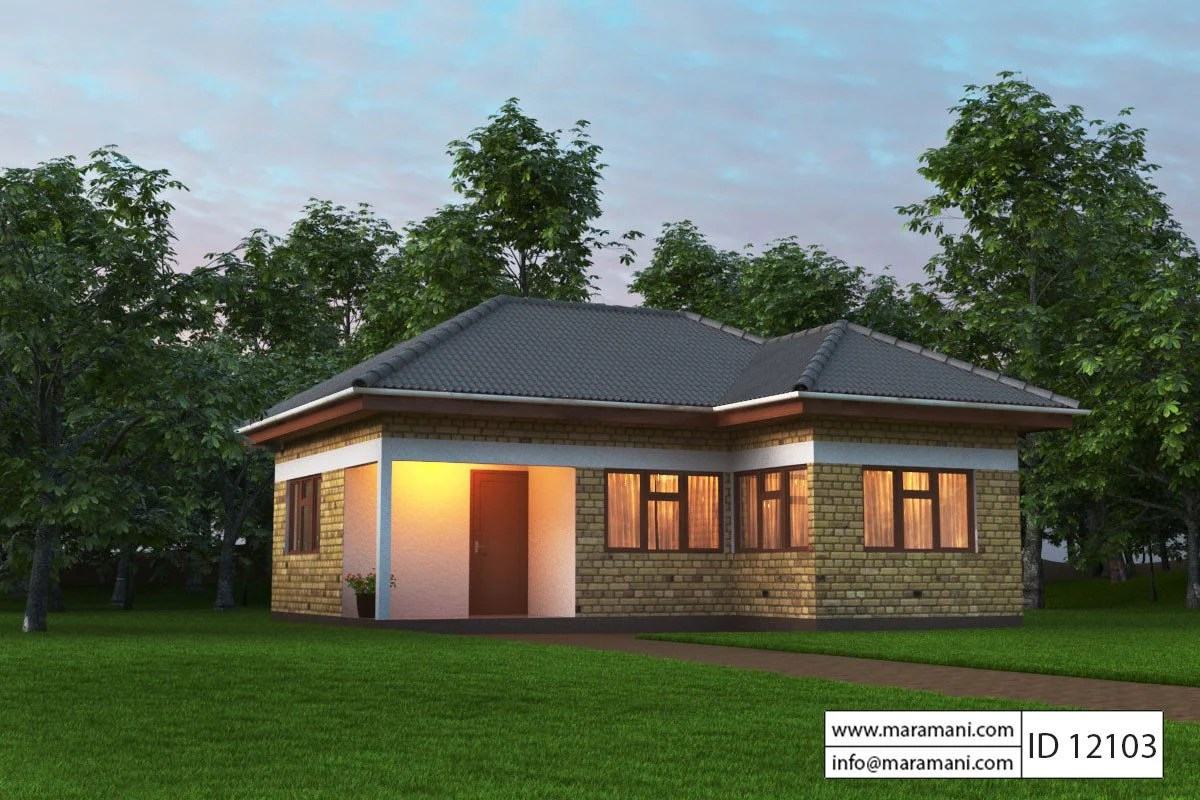 Small House Plan 2 Bedroom Id 12103 House Designs By