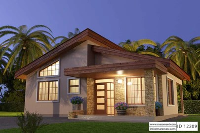 2 Bedroom House Plans Designs For Africa Maramani