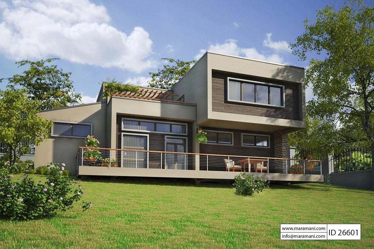 6 Bedroom Modern House Plan