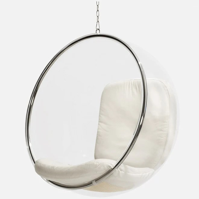 bubble chair stand only oxo tot high recall modern hanging chairs modernpalette lounge aarnio