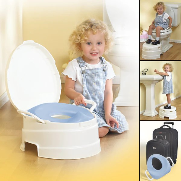 4in1 Toilet Trainer  Potty  Step Stool Set  PRIMO