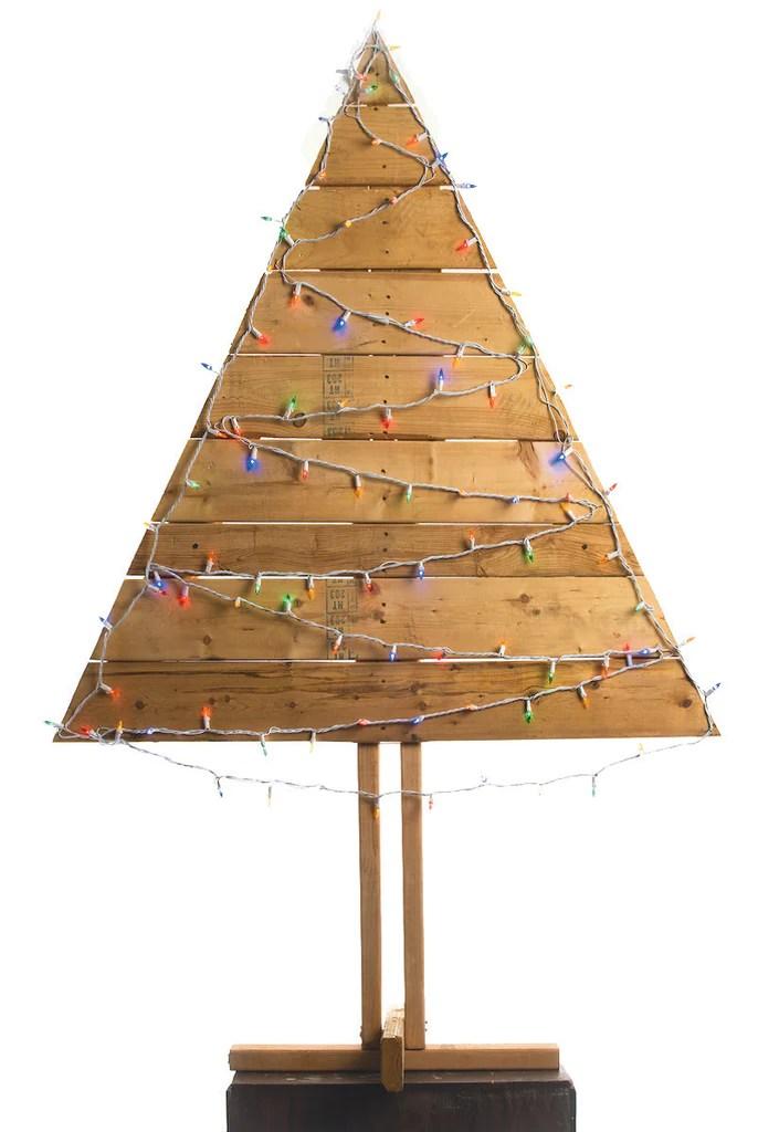 pallet christmas tree small