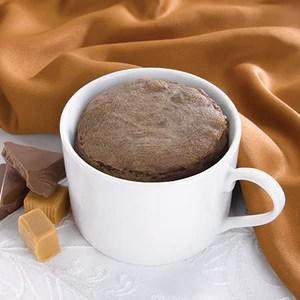 chocolate caramel mug cake mix
