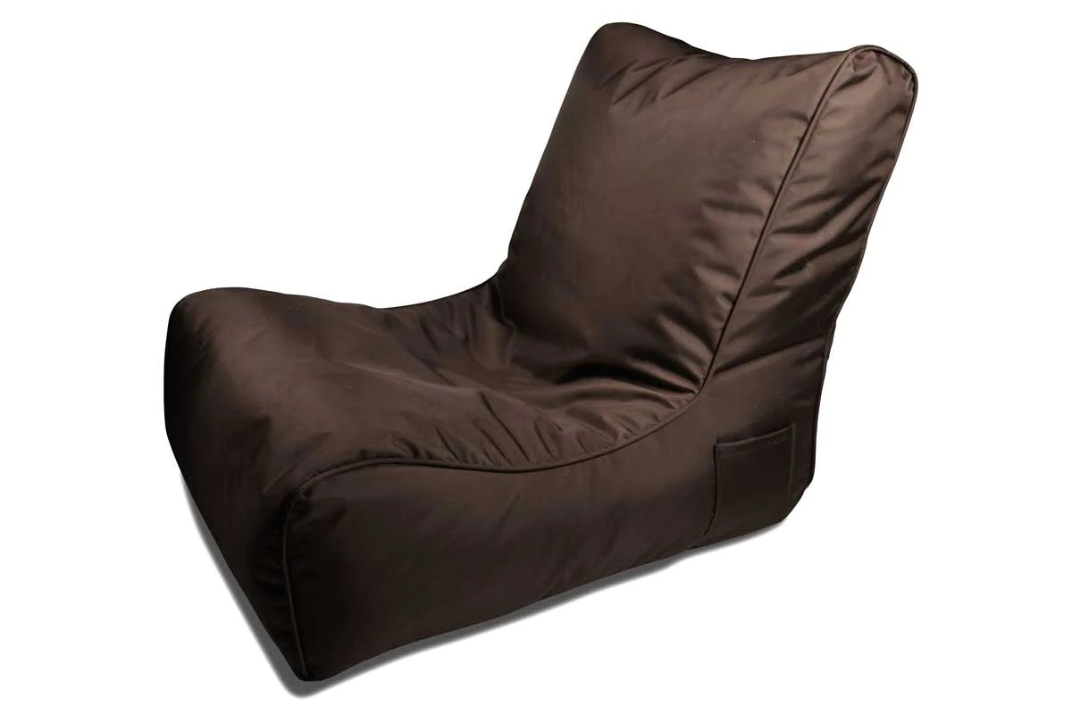 Evolution Chair Evolution Sofa Bean Bag In Mud Cake Chocolate In Outdoor