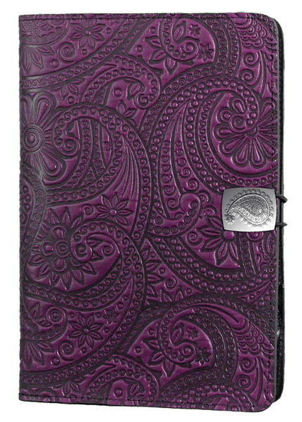 Leather Covers and Cases for Amazon Fire Tablets  Paisley  Oberon Design