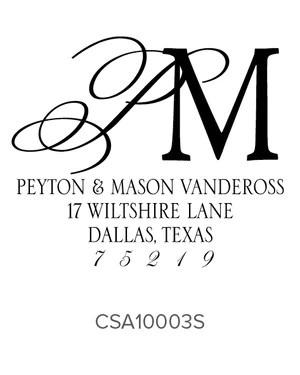 custom address stamp 10003s