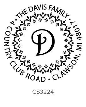 custom address stamp cs3224