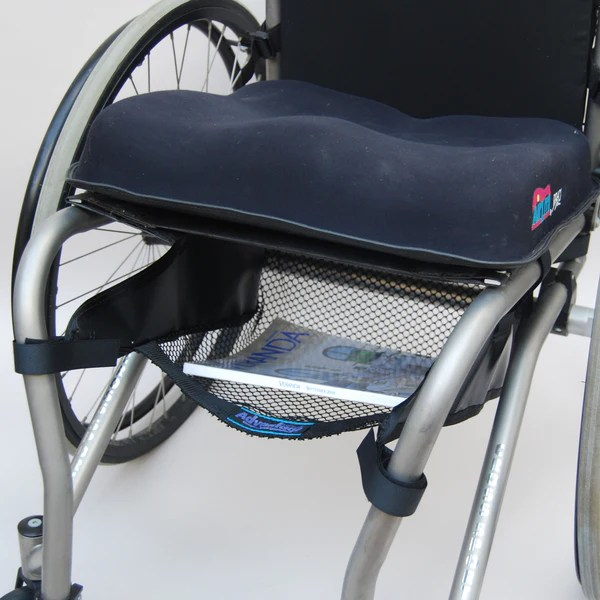 Wheelchair Under Seat Cargo Net  WH1902 Wheelchair Catch All Too  Advantage Bag Company