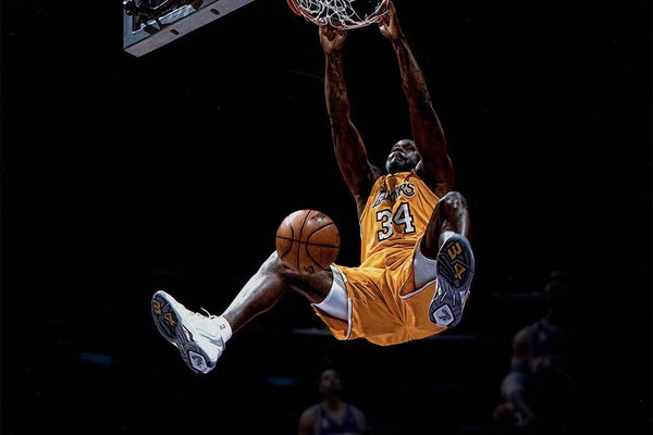 Image result for shaquille oneal dunk 600 x 400