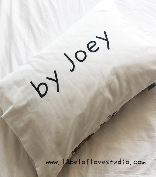 my kid s drew this pillow design your own label of love studio