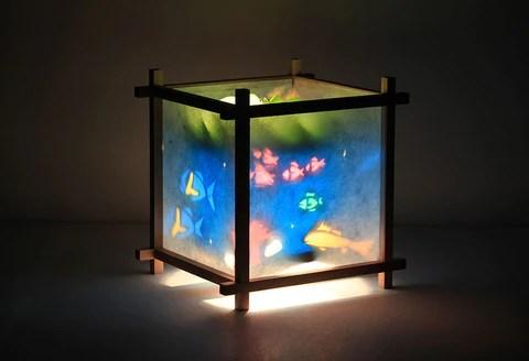 Magic Lamp  Rotating Kids Lamps for Nursery Bedroom or