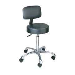 United Chair Medical Stool Table And Chairs Kids For Doctors Patients Vinyl Pneumatic With Back