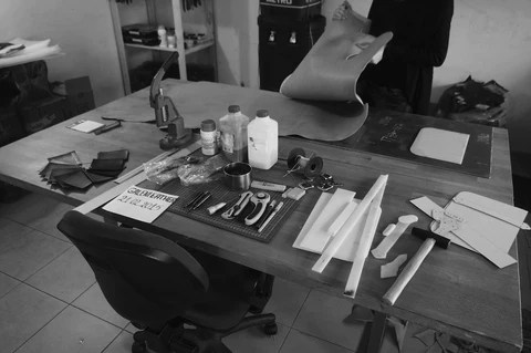 galen leather workshop
