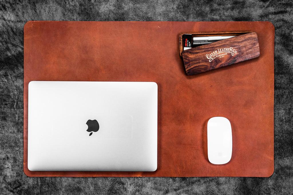 100 Genuine Handmade Leather Desk Pad  Galen Leather