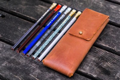 leather pencil cases handmade