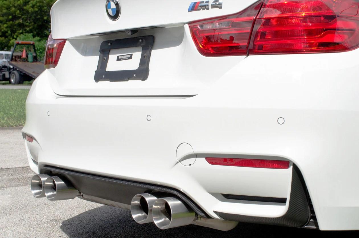 f8x bmw m3 m4 rear exhaust tips