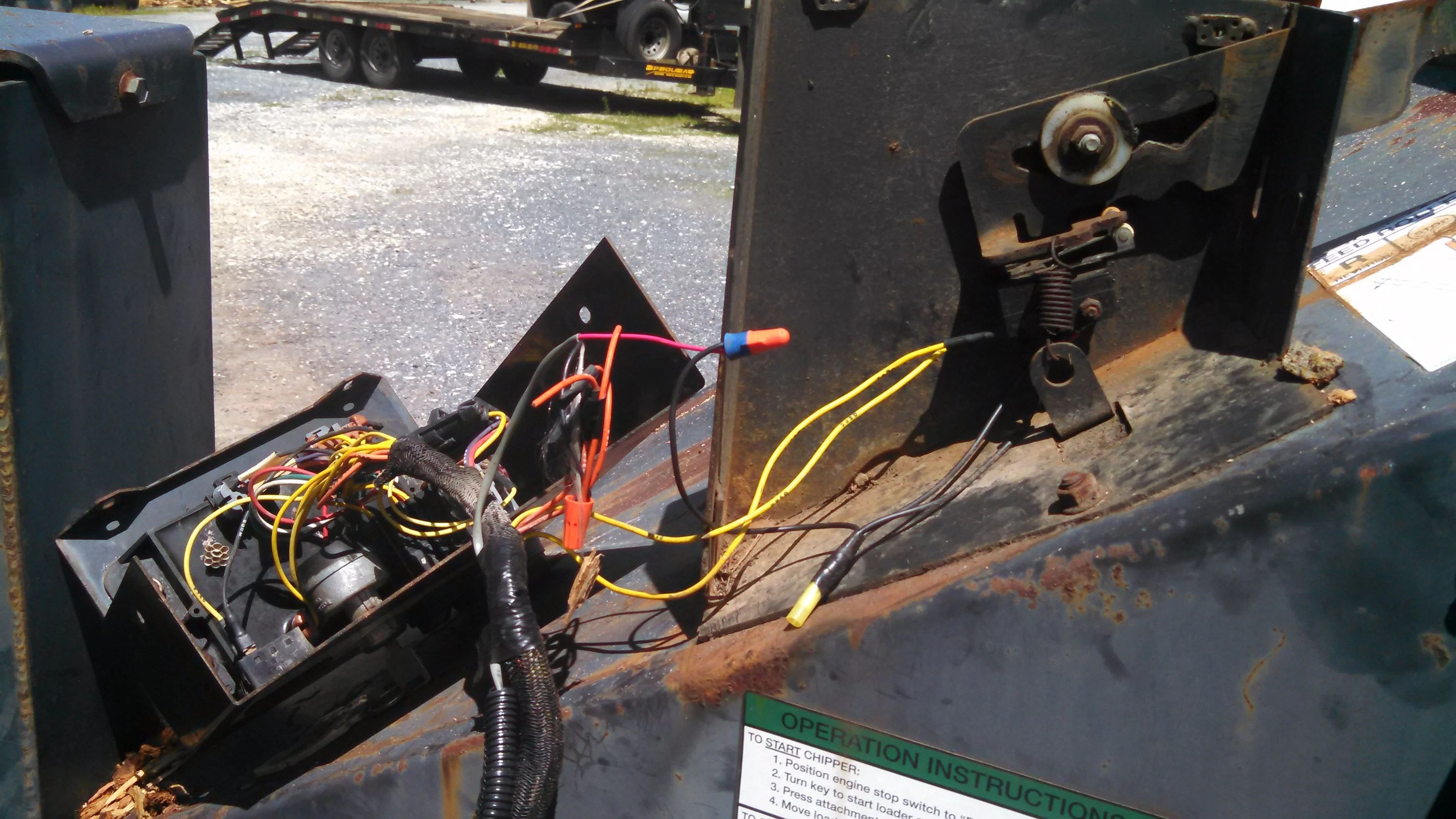 small resolution of  bobcat racs system with additional wiring