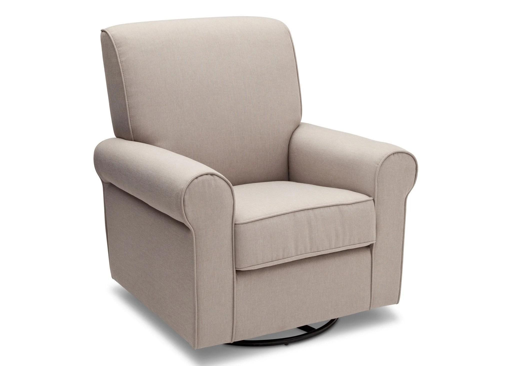 delta avery nursery glider chair grey steelcase pollock upholstered children