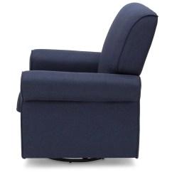Delta Avery Nursery Glider Chair Grey Desk For Girls Room Upholstered Children