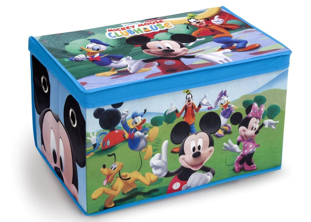 Mickey Mouse Toy Box Delta Children