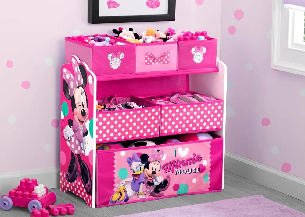 Minnie Mouse Multi Bin Toy Organizer Delta Children