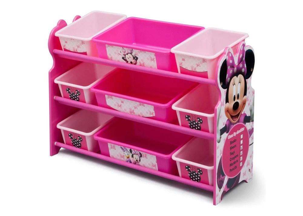 Minnie Mouse Plastic 9 Bin Organizer Delta Children