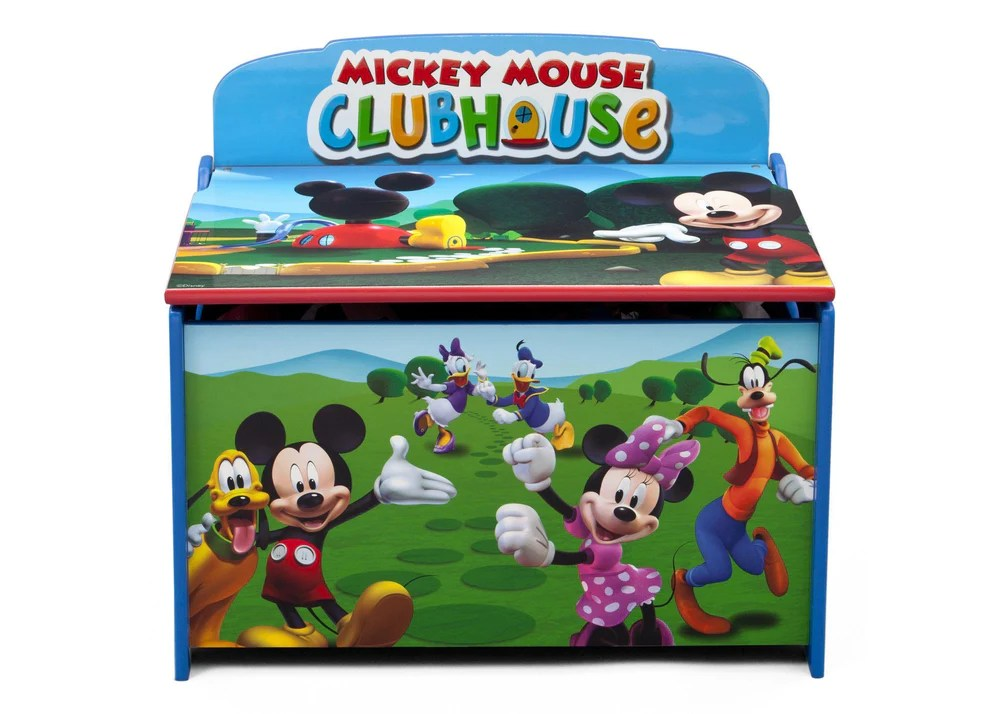 Mickey Mouse Deluxe Toy Box Delta Children
