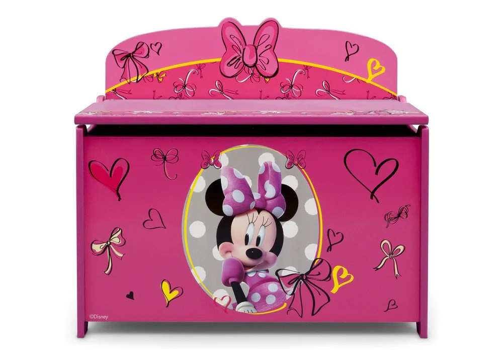 Disney Minnie Mouse Deluxe Toy Box Delta Children
