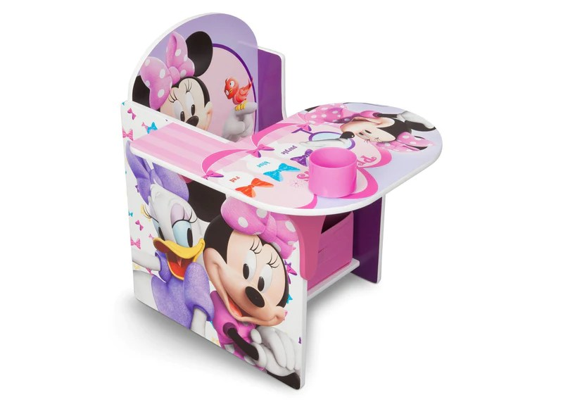 minnie mouse upholstered chair canada cute desk chairs target furniture collection delta children with storage bin