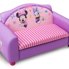 Minnie Mouse Upholstered Chair Canada Rainforest Vibrating Sofa Bed Baci Living Room With Storage