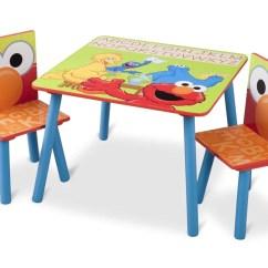 Elmo Table And Chairs Dream Catcher Hammock Chair Sesame Street Set Delta Children