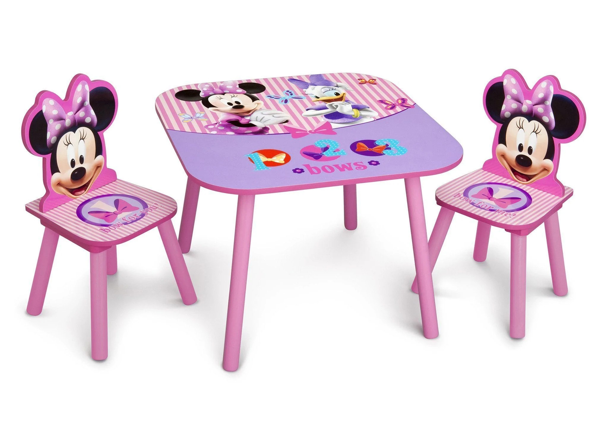 minnie table and chairs chair of urban design mouse set delta children