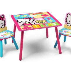 Hello Kitty Desk Chair Folding Sale Table And Set Delta Children
