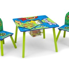 Ninja Turtles Chair Flight Simulator Teenage Mutant Table And Set With