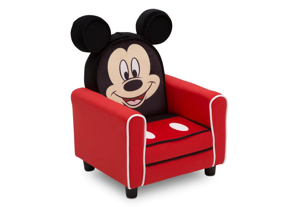 mickey mouse clubhouse chair recliner covers australia figural upholstered kids delta children right view a3a
