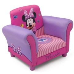Minnie Mouse Upholstered Chair Arm Accent Delta Children