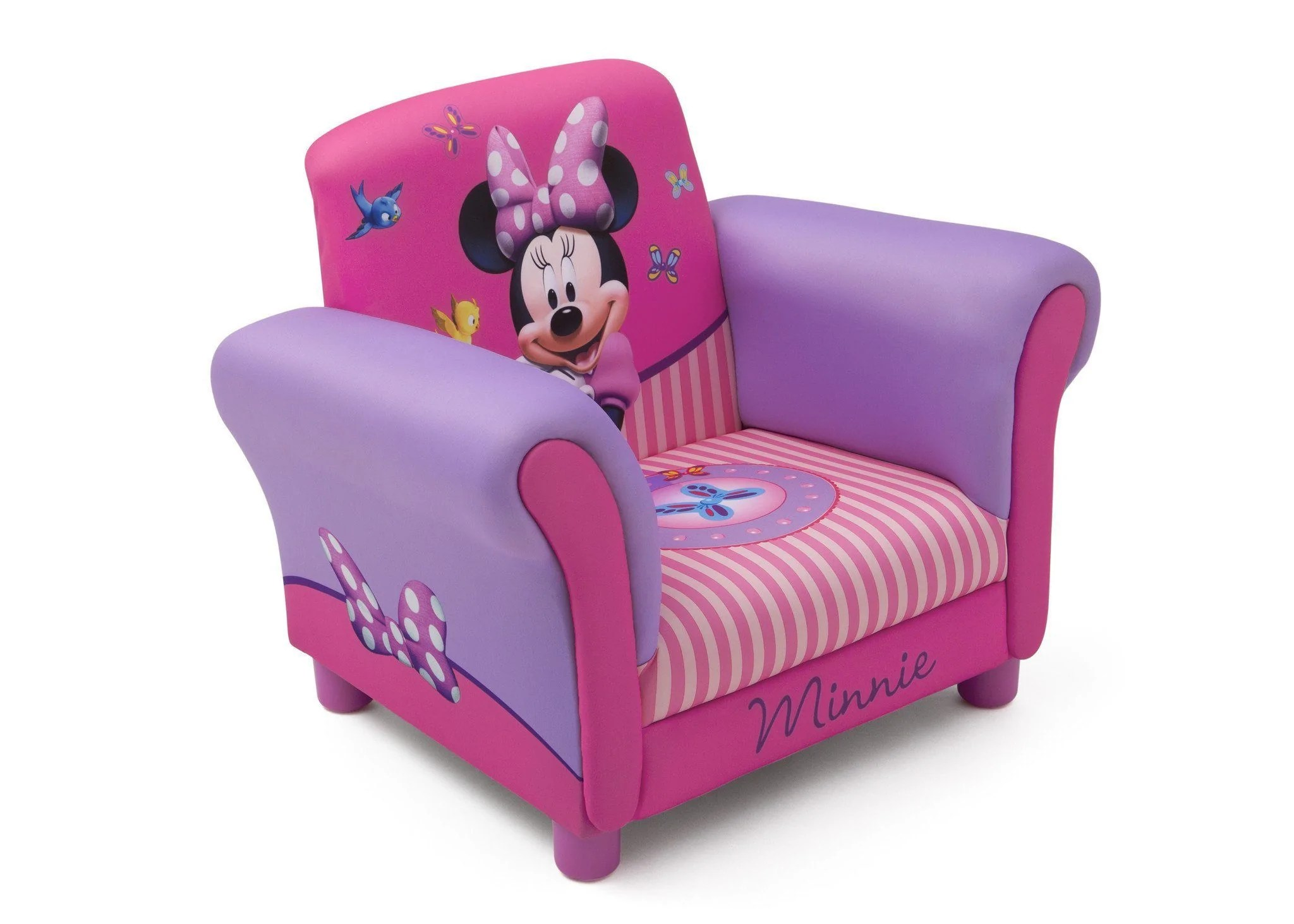 minnie mouse upholstered chair folding amazon india delta children