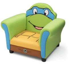 Ninja Turtles Chair Swivel Harveys Teenage Mutant Upholstered Delta Children Left Side View A2a