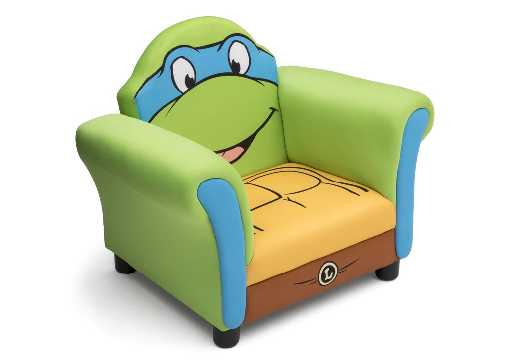 ninja turtles chair maple dining room chairs teenage mutant upholstered delta children