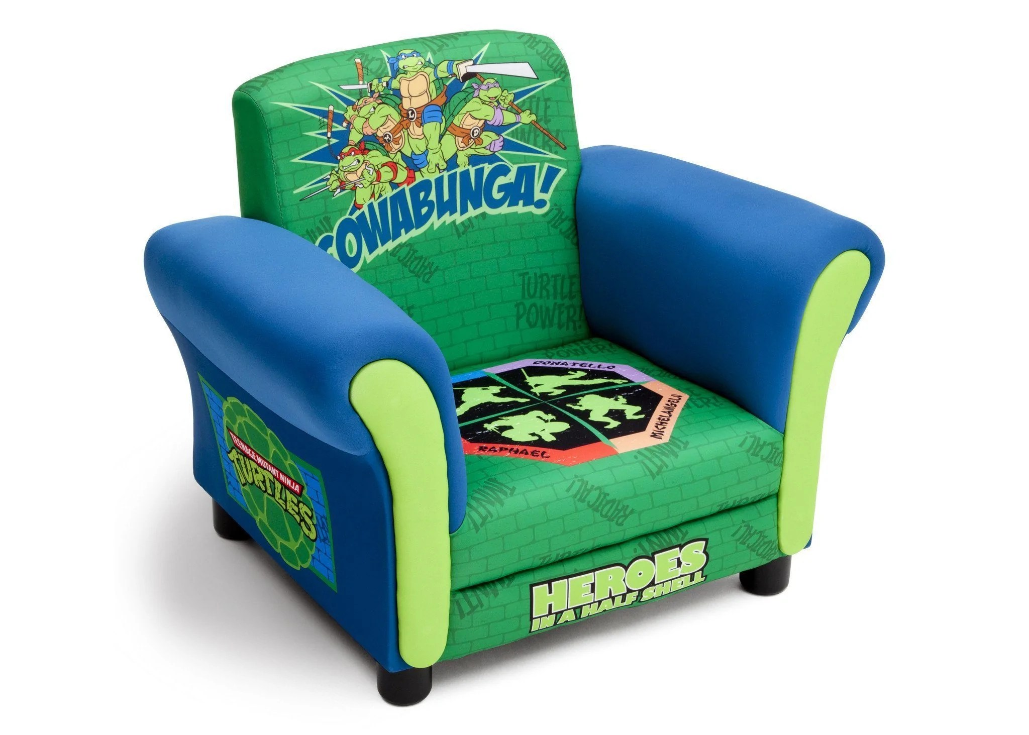 ninja turtles chair recliner covers for sale teenage mutant upholstered delta