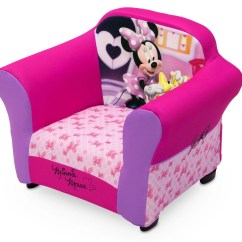 Minnie Mouse Upholstered Chair Decorative Office Mats Disney With Sculpted