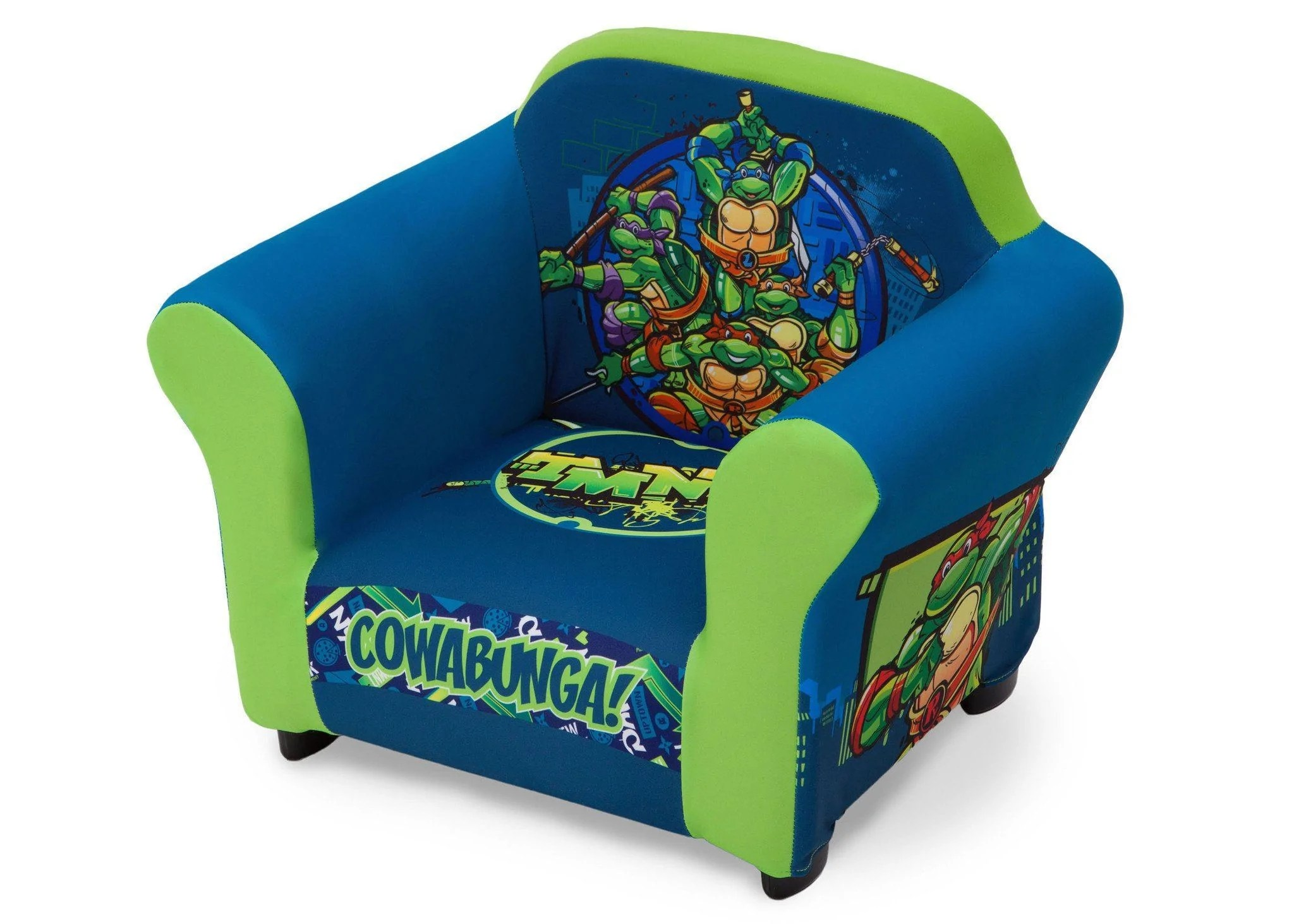 ninja turtles chair wedding covers tamworth nickelodeon teenage mutant upholstered